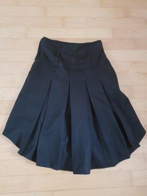 Falda de patinador negro