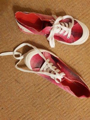 Rocket dog Zapatos de patinador negro-rojo oscuro
