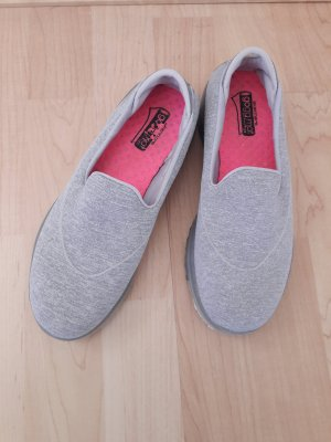 Skechers GoFlex Walk Slipper Loafer grau Gr. 36