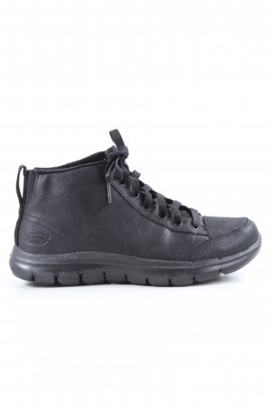 Skechers Zapatillas altas negro look casual