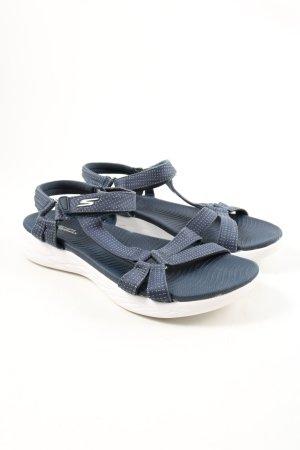 Skechers Komfort-Sandalen blau Casual-Look