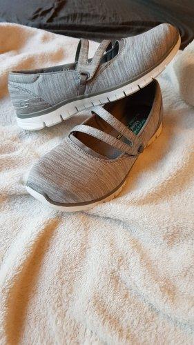 Skechers Bailarinas con tacón Mary Jane color plata Algodón