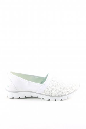 Skechers Slip-on Shoes white graphic pattern casual look