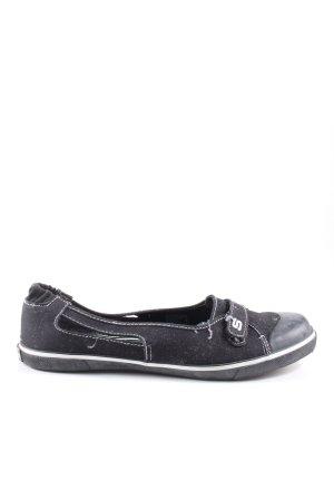 Skechers Sneaker Klettverschluss schwarz Casual-Look