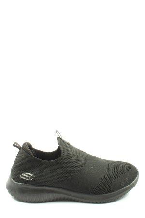 Skechers Instapsneakers zwart casual uitstraling