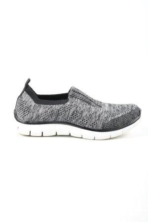 Skechers Sneaker slip-on grigio chiaro stampa integrale stile casual