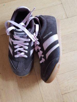 Skechers Schuhe Echtleder Gr 36