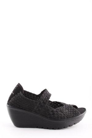 Sketchers Comfort Sandals black casual look