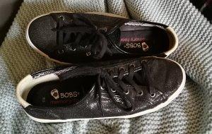 Sketchers memory foam Sneakers in Schwarz mit coolem Glitzer