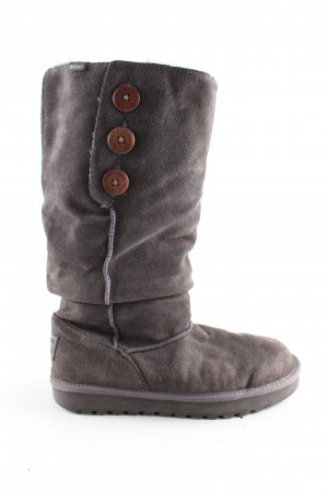 Sketchers Winterstiefel braun Casual-Look