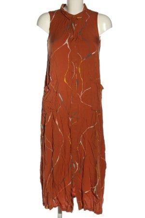 SKFK Blusenkleid abstraktes Muster Casual-Look