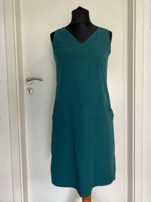 SKFK ecolabel Sommerkleid in smaragdgrün