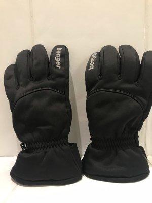 benger Rękawice termiczne czarny-biały