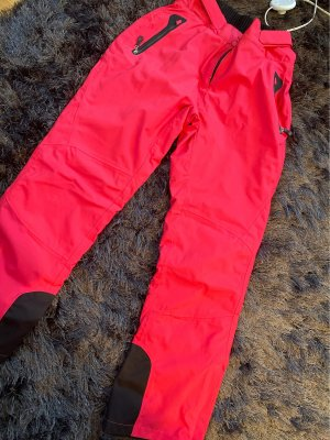 Crivit Pantalone termico rosso lampone