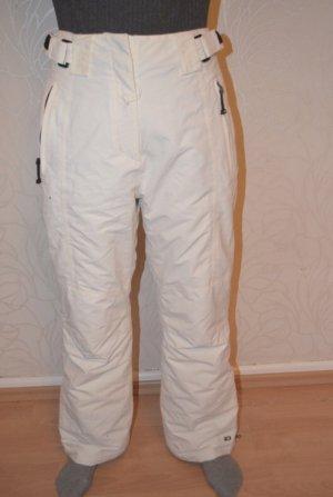 Pantalón de esquí negro-blanco