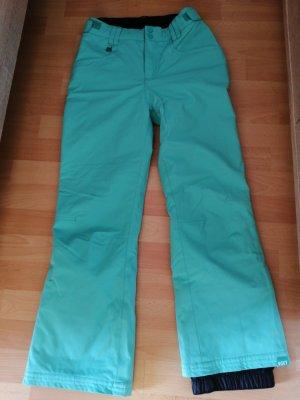 Roxy Workowate jeansy turkusowy