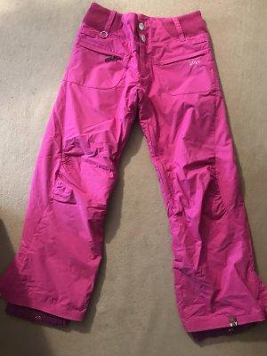 Roxy Pantalón de esquí rosa