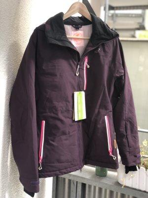 2117 of Sweden Sports Jacket brown violet