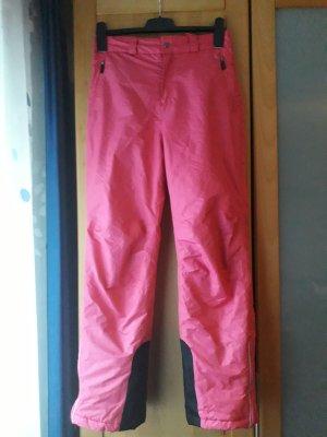 tchibo Snow Pants black-raspberry-red