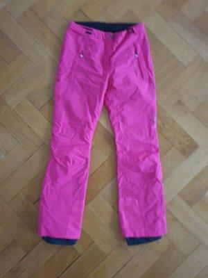 una pui uno Pantalón de esquí rosa-rosa neón