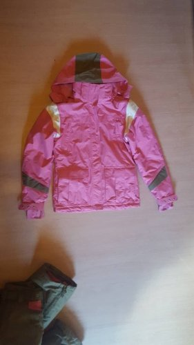 Snow Pants pink-khaki