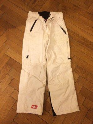 Pantalón térmico blanco-negro