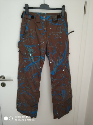 Salomon Pantalon de ski multicolore polyester
