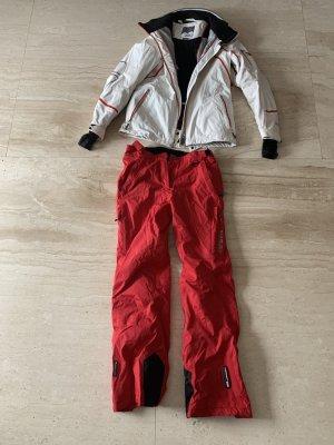Icepeak Pantalón de vestir blanco-rojo