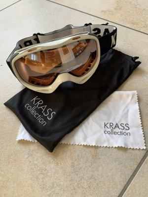 Skibrille weiß von KRASS Optik
