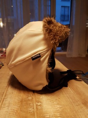 Alpina Lapland Hat white-dark brown