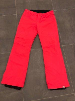 Roxy Pantalón de esquí rosa neón