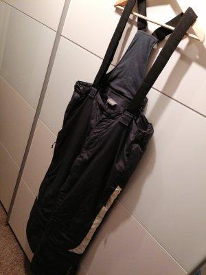 Pantalón de esquí gris oscuro-beige claro