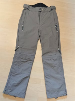 Crazy Creek Pantalón de esquí gris Poliéster
