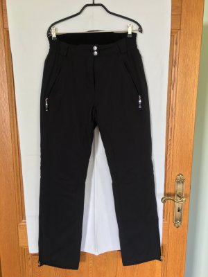 Canyon Sports Pantalon de ski noir polyamide