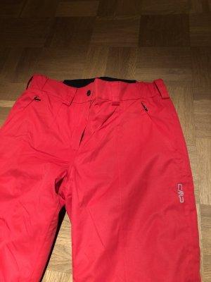 CMP Pantalón de esquí rojo