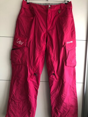 Volcom Snow Pants pink polyamide