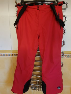 Killtec Pantalón de esquí rojo Poliéster