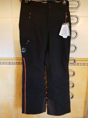 Peak performance Pantalón de esquí negro-naranja Poliéster