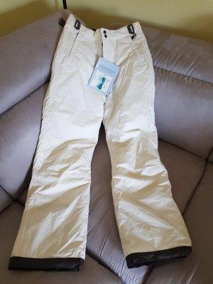 Tchibo / TCM Pantalón de esquí negro-blanco puro