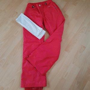 Pantalón de esquí rojo