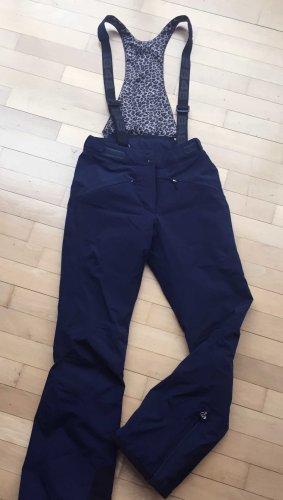 Pantalón de esquí azul tejido mezclado