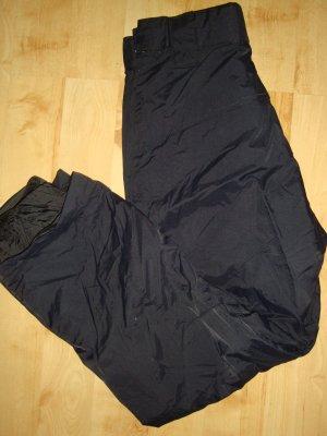 Billabong Pantalón de esquí negro tejido mezclado
