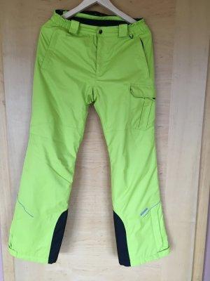 Icepeak Snow Pants neon green polyester
