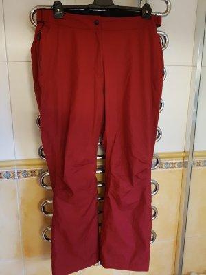 Maier Sports Pantalón de esquí carmín Poliéster