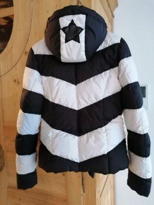 Goldbergh Sportjack zwart-wit Modal