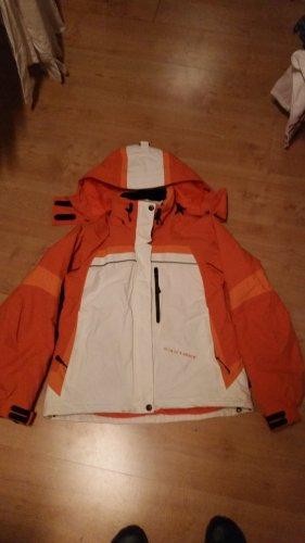 Skijacke exxtasy Damen Gr.38 orange/weiß