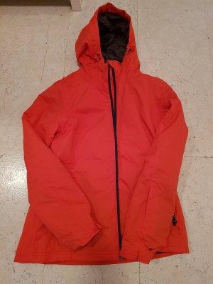 skijacke in orange/rot von tchibo
