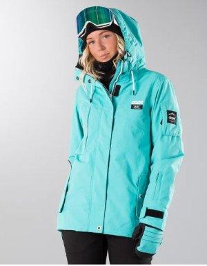 Skijacke mit passenden Handschuhe dazu