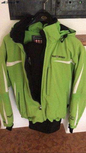 Waveboard Outdoor Jacket neon green-black