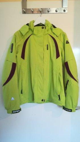 Icepeak Outdoor Jacket meadow green-purple polyester